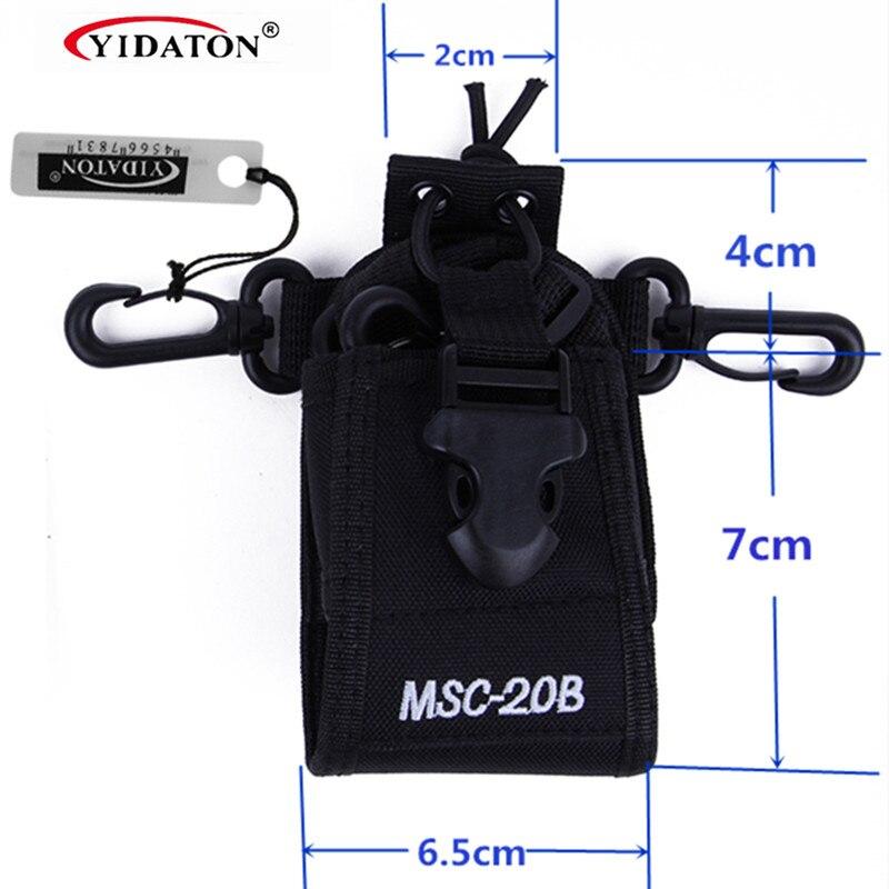 Hot Sale Portable Two Way Radio Case for Baofeng Walkie Talkie VHF UHF UV-5R UV-5RA Plus UV B6 UV-82 For Motorola HT750