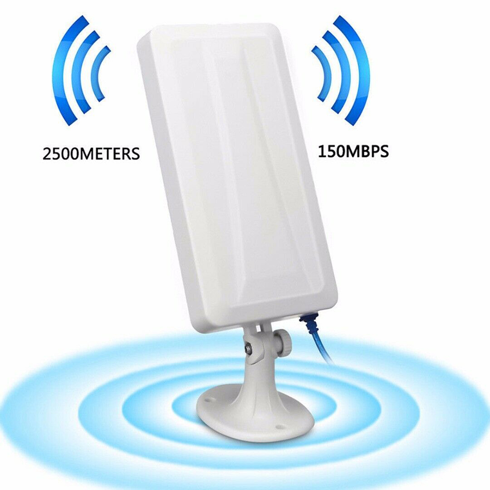 Antena wifi repetidora, extensor de longo alcance,