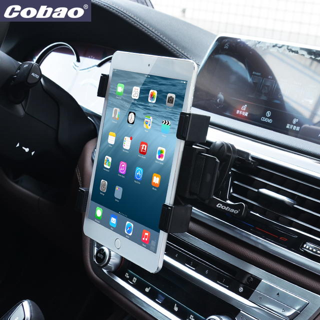 cobao 360 car holder air vent mount tablet stand auto. Black Bedroom Furniture Sets. Home Design Ideas