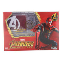 Vingadores Infinito Guerra Figura Do Homem Aranha Aranha De Ferro Collectible Toy Modelo 14 cm(China)