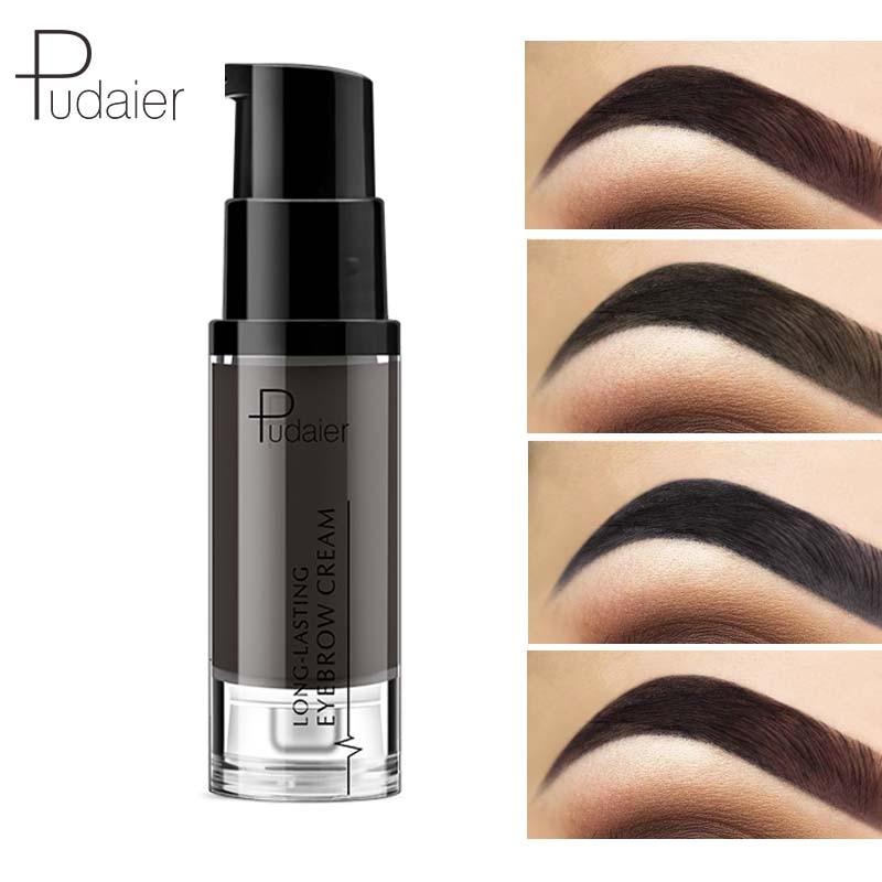 Вампирский стиль с длинными-стойкий для бровей крем натуральный Liuqid гель для бровей Тату макияж тени для бровей, устойчивые к воде, пигмент, профессиональное черный карандаш для бровей