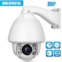2MP AUTO Tracking Camera PTZ 30x zoom optional Wireless camera 1080P High Speed Dome IR 150M IP Camera P2P CCTV Security Camera