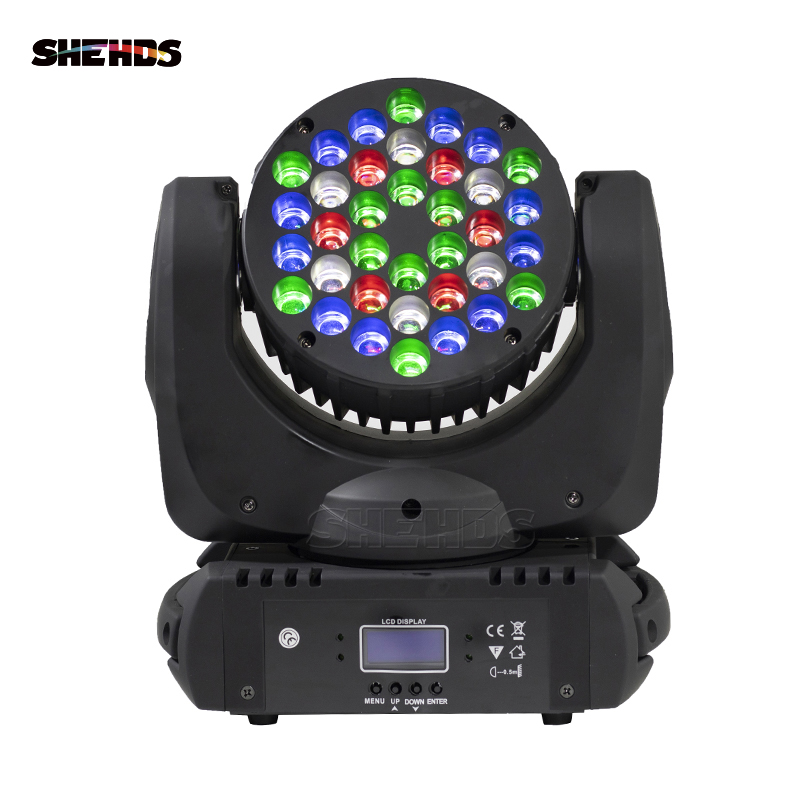 Generous New Design Led 36x3w Beam Moving Head Rgb Dmx Stage Light Effect Light Fixture For Dj Party Disco Nightclub Bar Buy One Give One