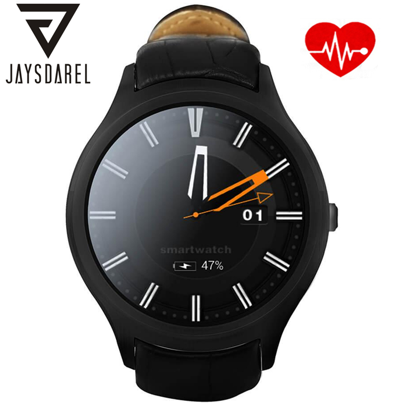 все цены на JAYSDAREL NO.1 D5+ Android 5.1 1.3 inch 3G Smart Watch MTK6580 Quad Core 1.3GHz 1GB RAM 8GB ROM Heart Rate GPS Smart Wristwatch онлайн