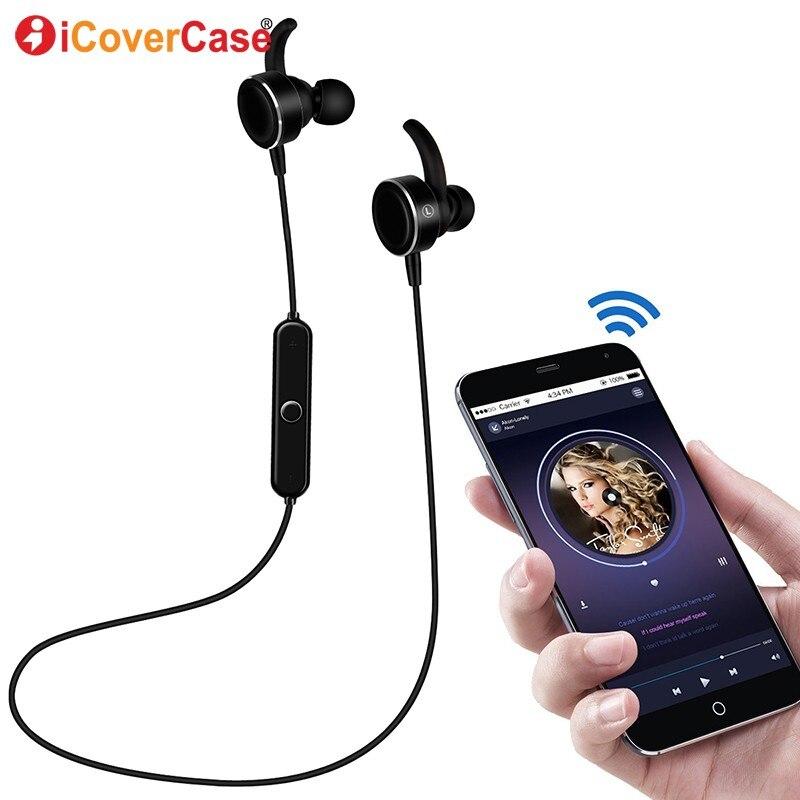 US $10.87 20% OFF|Słuchawki dla Huawei P20 Lite P20 Pro P10 Plus P9 Lite 2017 P8 Bluetooth słuchawki w linii zestawem słuchawkowym do regulacji muzyka