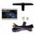 12 V Carro Universal 2-portas Elétrica Kits de Janela de Poder com 3 pçs/set Moom Switchess # CA4419