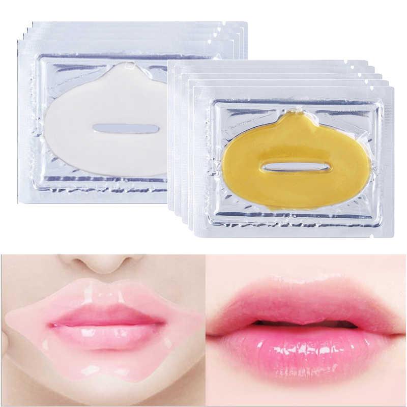 EFERO colágeno máscara de labios parche para parches de labios hidratante exfoliante labios Bomba De Plumper esencial cuidado de los labios 3-15 paquetes