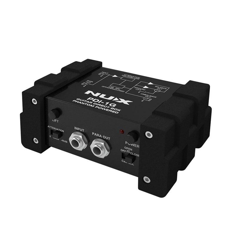 nux pdi 1g mini port usb xlr input output audio interface for mic midi instrument. Black Bedroom Furniture Sets. Home Design Ideas