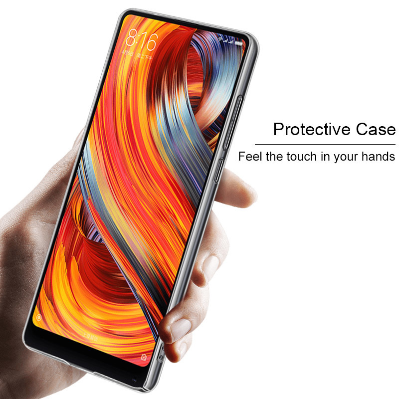 Xiaomi Mi MiX 2S Case Mi MiX 2 Case IMAK Crystal Pro Series Hard Plastic Back Cover Case For Xiaomi Mi MiX 2/MiX 2S