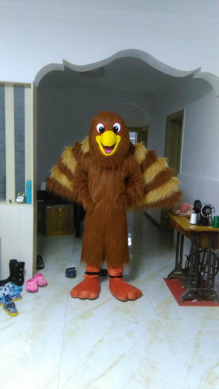 2017 New Eagle Peacock Cartoon Character Costume Cosplay Mascot Custom Products Custom-made(s.m.l.xl.xxl) Free Shipping