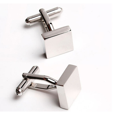 WN hot sales/square plane cufflinks quality French shirts cufflinks wholesale/retail/friends gifts
