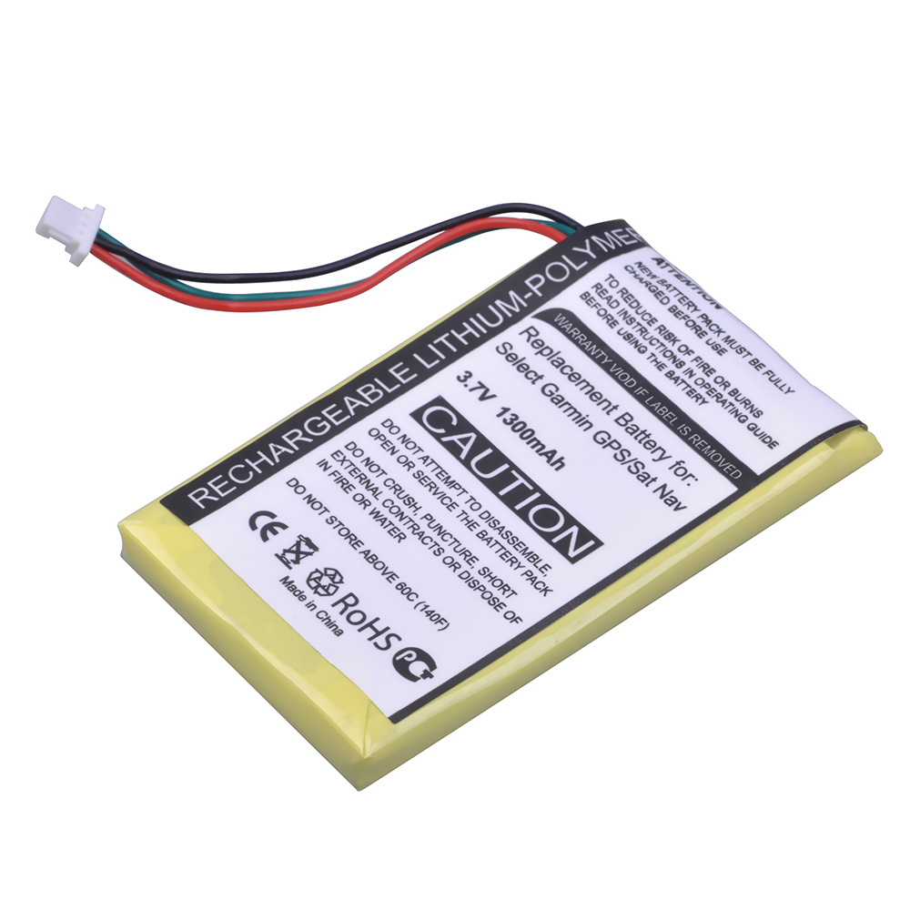 2 AA NiMH Batteries New Garmin Battery Charger w International Adapter Plugs