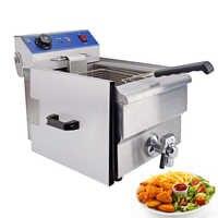Friteuse domestique multifonctionnelle à usage domestique Machine à frire sans fumée poisson frit friteuse Grill baguettes de pâte de poulet frit