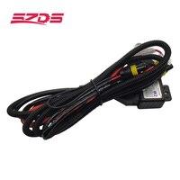 SZDS 12 в 35 Вт 55 Вт H4 монтажный жгут контроллера реле управления для HELLA 3R G5 3/5 KOITO Q5 WST AL проектор тросик объектива провода
