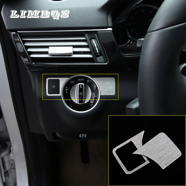 Scheinwerfer Einstellung Taste Aufkleber Für Mercedes Benz Eine W176 B W246 C W204 E W212 E350 Glk X204 Gl Ml Kopf Licht Schalter Abdeckung