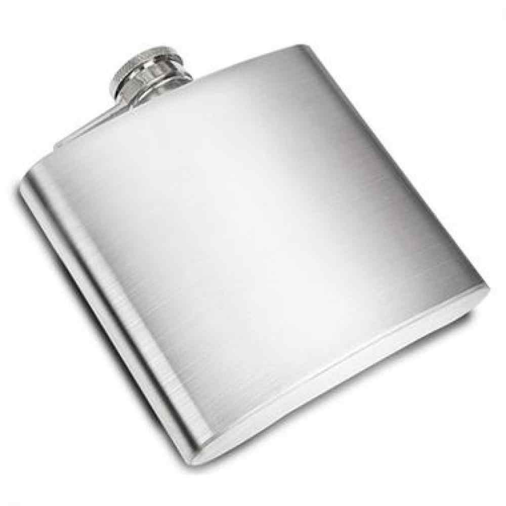 Xách tay Wisky Chai Thép Không Gỉ Hip Flask 8 oz Nga Wine Mug Với Box Pocket Drinkware Rượu Chai Cho Drop Shipping vận chuyển