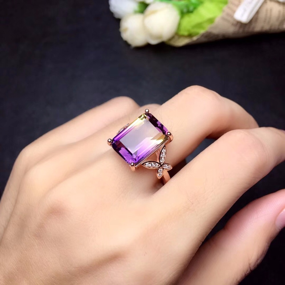 HTB1REFPbvvsK1Rjy0Fiq6zwtXXaM - Uloveido Exquisite Gemstone Natural Amethyst Lady Ring 925 Sterling Silver