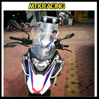 MTKRACING Motorcycle WindScreen Windshield Viser VIsor Fits For BMW G310GS G310 GS 2017 2018 2019 17' 19' Double Bubble Screen
