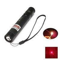 Rojo Lápiz Puntero Láser de Luz de Gran Alcance de Enfoque Láser 532nm Viga Línea Continua 301 Enseñanza Puntero láser para la Presentación