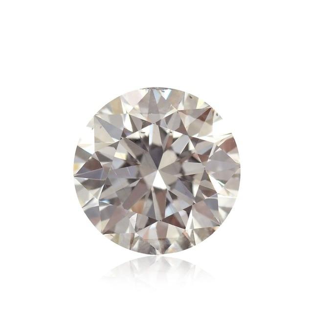 Cor F Esdomera LASAMERO Moissanites 0.4 CT 4.5mm Round Cut Loose Gemstone Teste como Real Lab Grown Diamante Jóias
