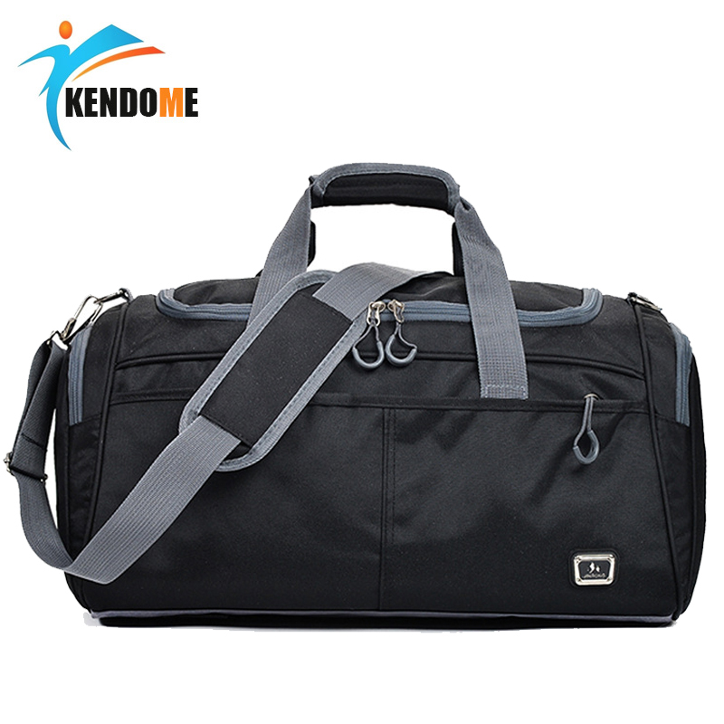 Outdoor Waterproof Large Capacity Sports Gym Bag Men Women Portable Fitness Training Bag Soft Foldable Shoulder Travel HandBag