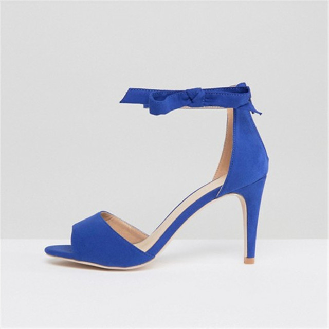 Chaussures bleues Sexy femme ZCHjrI5leb