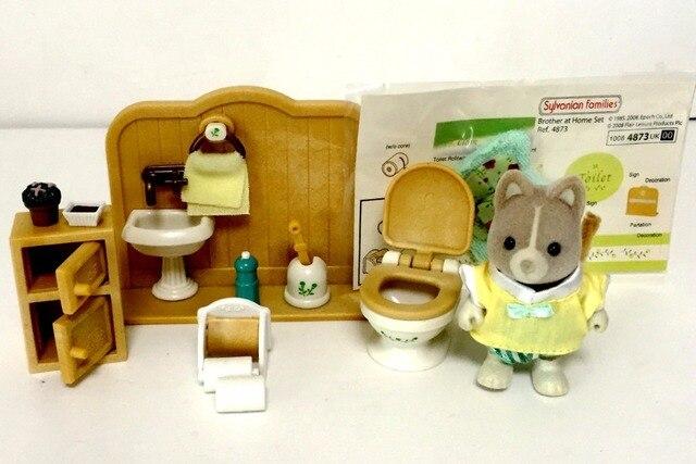 Aliexpress.com : Buy Sylvanian Family original rest room toilet WC ...
