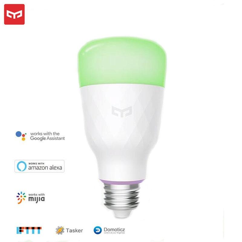 Original Xiaomi Yeelight Smart LED Bulbs Update Version Color White 2 Bulb 800lum 10W E27 Smart bulb For Mijia App WiFi Control sphero ollie 2b smart ball bluebooth control white color freeshiping page 4
