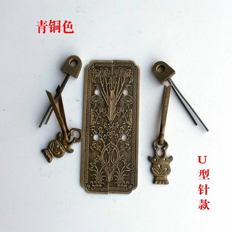 Chinese antique furniture accessories copper copper handle TV cabinet bookcase bookcase wardrobe bedside cabinet Showcase