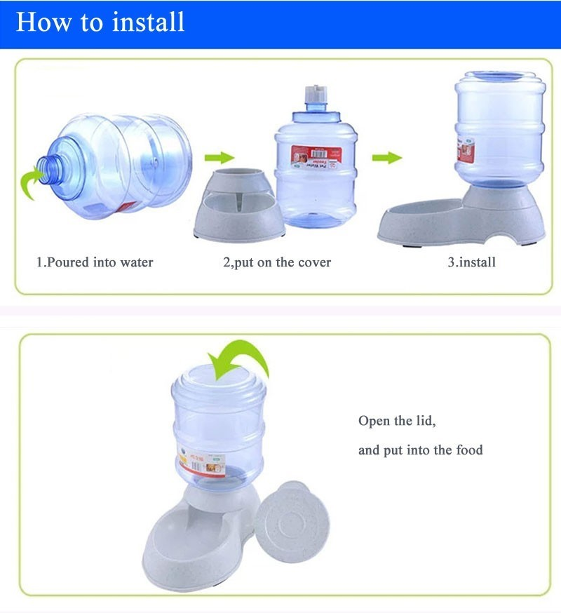 Fashion Pet drinkers, automatic feeder - Trendy21Store