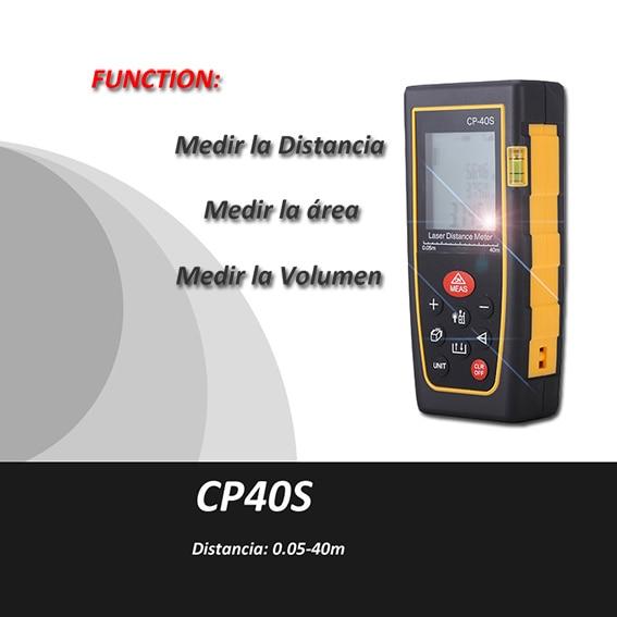 ФОТО Trena metro laser Medidor Distancia Laser,0.05-40m, laser de mesure,,metro digital, Cinta Metrica, laser range finder,, CP40s