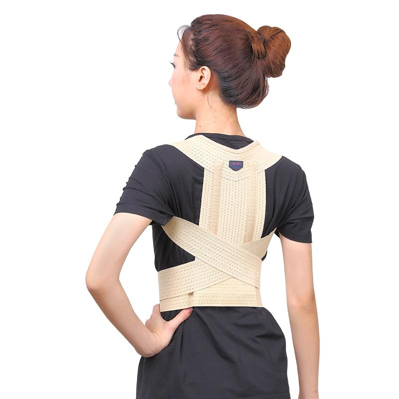 High quality 3D Bakc Posture correct belt Breast Back ...
