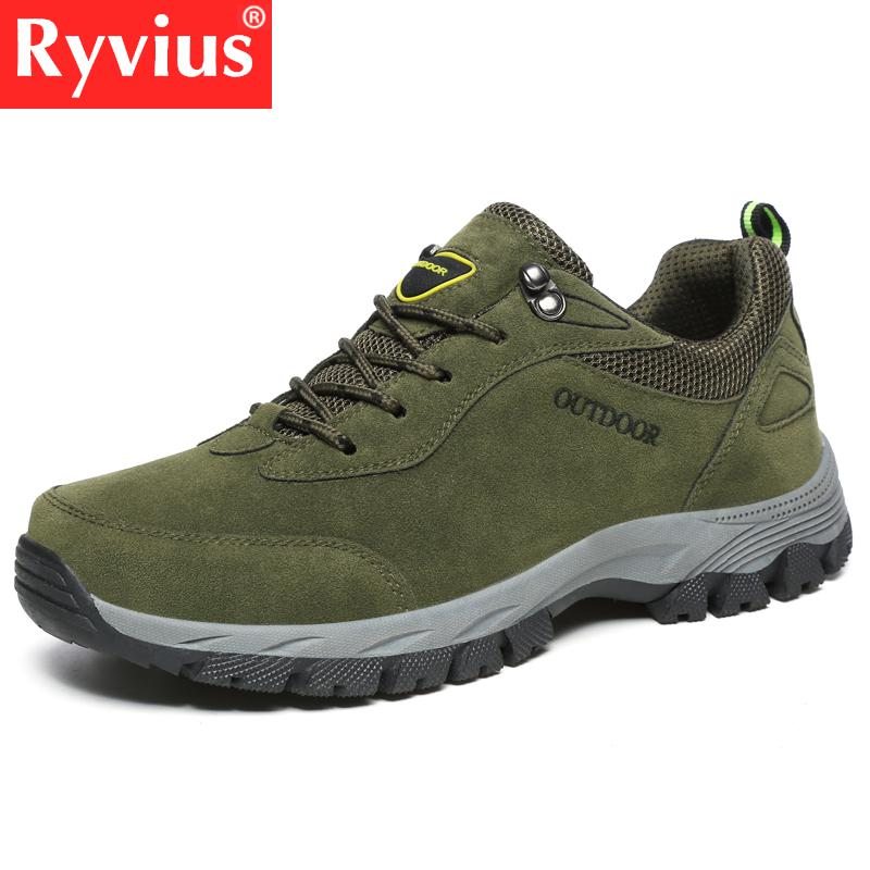 2018 Men s Large Size 39 49 Fashion Men s Shoes Comfortable Waterproof Outdoor Hiking Shoes