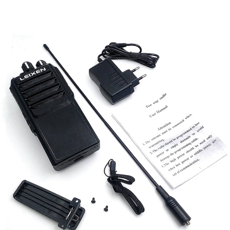 Image 5 - High Power LEIXEN VV 25  25watts long range walkie talkie  with 12.6V 4000mAh battery-in Walkie Talkie from Cellphones & Telecommunications