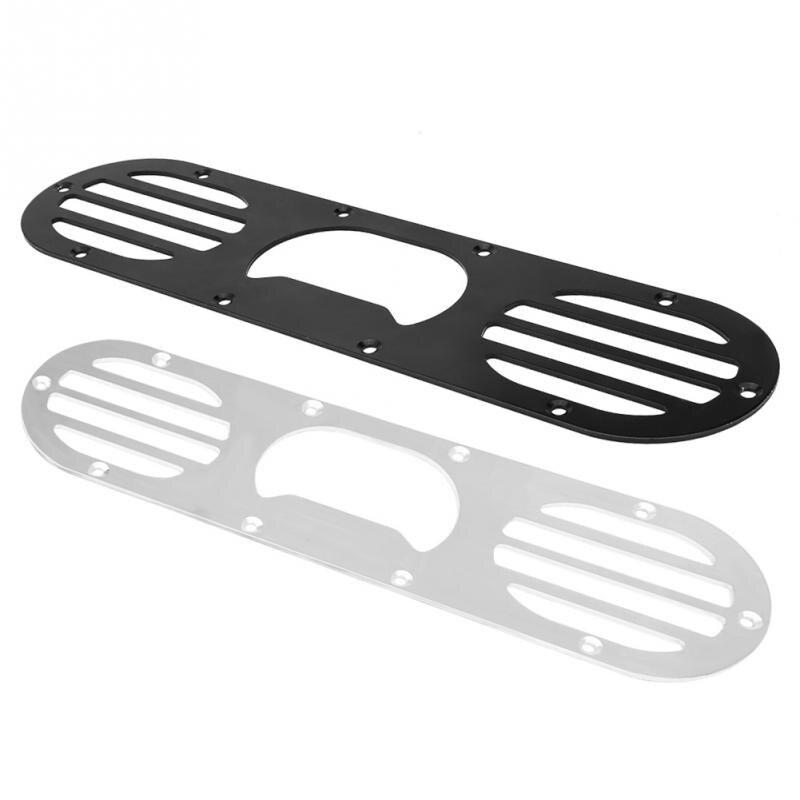 2 шт. Универсальный задний бампер воздуха утечки диффузор Панель для гоночного автомобиля черный, серебристый цвет