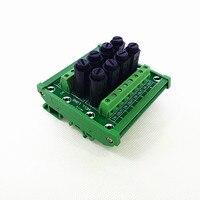 Fuse Module,DIN Rail Mount 8 Channel Fuse Power Distribution Module Board.