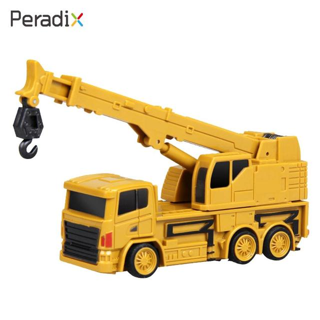 e228e6d82665ba 2018 Drop Shipping Mini Crane Model Fashion Entertainment Rc Truck Rc  Novelty Outdoors Mini Rc Crane Cultivate Interest