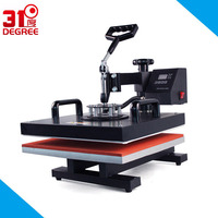 Hot Sell T shirt printer hot press machine heat transfer machine phone case printer