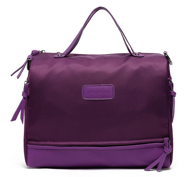 Casual women bags 2017 new fashion handbags Nylon leather single shoulder bags messenger bags 4 colors