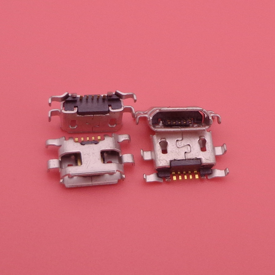 imágenes para 100 unids Para Motorola Moto G2 G + 1 XT1063 XT1064 XT1068 XT1069 Micro USB Cargador de Carga Dock Conector de Puerto para Nokia Lumia 1320