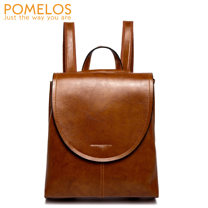POMELOS Backpack Women High Quality Split Leather Backpack Female Fashion Travel Backpack Rucksack Back Pack Woman