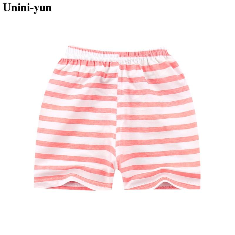 100% QualitäT Unini-yun Kinder Sommer Cartoon Baumwolle Kinder Shorts Hosen Baby Junge Mädchen Casual Shorts Baby Jungen Mädchen Coole Shorts Bequem Zu Kochen