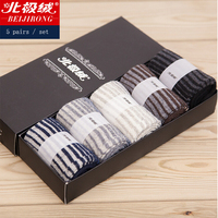 2016 Hot Sale 5 Pairs Lot Brand Fashion High Quality Wool Socks Men Winter Cashmere