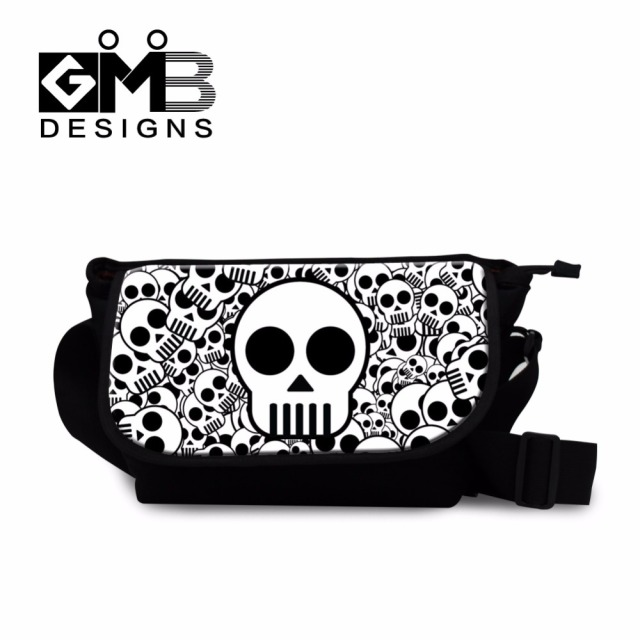 Cool Messenger Bags for Boys Skull Satchel Bags for men ...