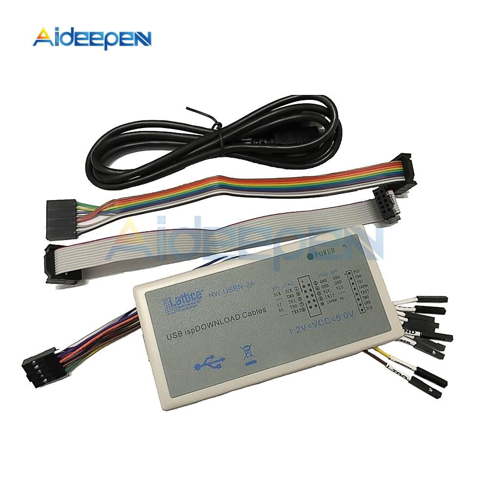 цена на New Arrival USB Isp Download Cable JTAG SPI Programmer for FPGA CPLD Development Board Download