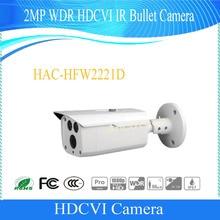 Free Shipping DAHUA Original English Version Security 2MP 1080P Water-proof WDR HDCVI IR-Bullet Camera without Logo HAC-HFW2221D