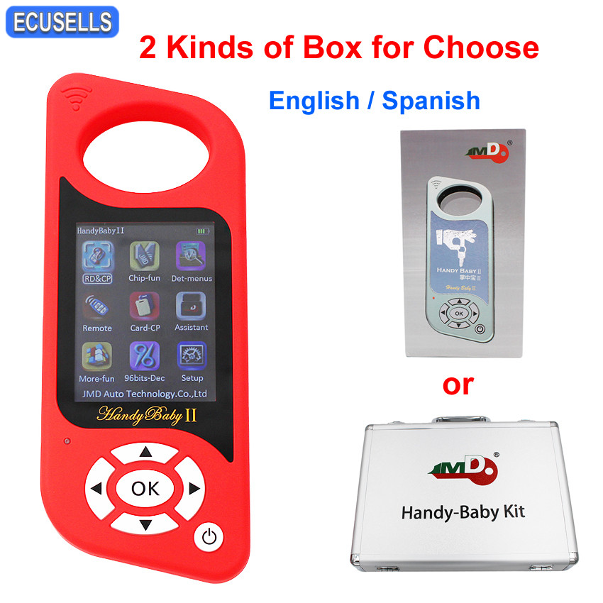 JMD Handy Baby 2 Handy Baby II Hand held Bluetooth Key Chip Programmer Remote Renew Card