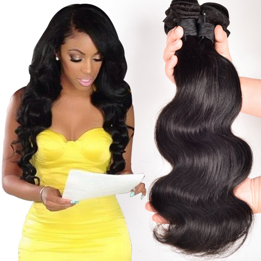 Beyo Hair Products 8A Brazilian Virgin Hair Body Wave 3PCS Brazilian Body Wave Cheap Brazilian Hair Human Hair Weave Bundles