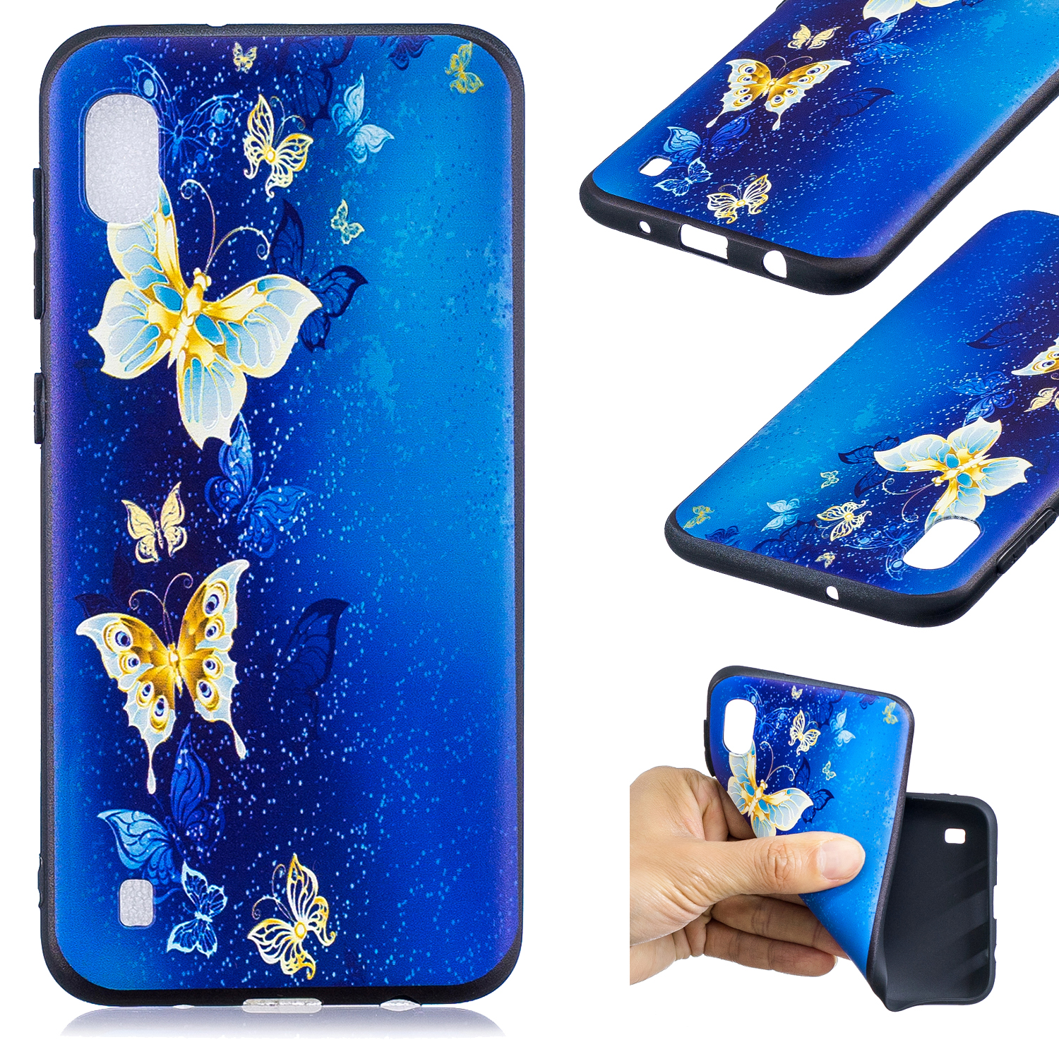 Silicone Phone Case For Samsung Galaxy A10 A20 A30 A40 A50 Mobile Protective Back Cover