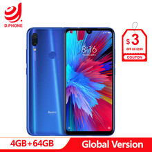 In Stock Global Version Xiaomi Redmi Note 7 6.3″ Full Screen Snapdragon 660 AIE 4GB RAM 64GB ROM 4G LTE Smartphone 48MP Phone
